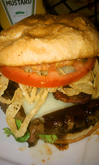 Burger and Destroy - Johhny Garlic's Burger